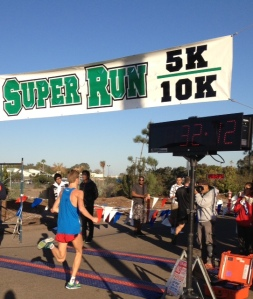 Lukas wins Super Run 10K in 32:05