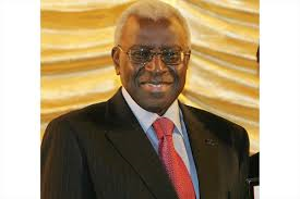 Former IAAF president Lamine Diack
