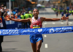 2014 Boston Marathon Meb wins