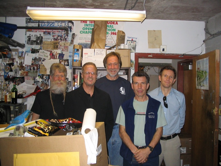 Charlie Rodgers, Reavis, Jason Kehoe, Yuri Apetov, Dave McNichol