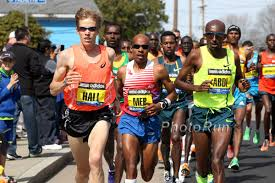 Ryan Hall, Meb, Abdi at the point