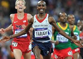 Double Olympic gold medalist Mo Farah