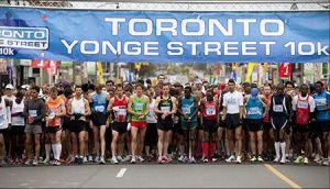 Toronto's Yonge Street 10K