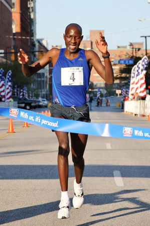 Julius Koskei of Kenya wins 10K in 29:06