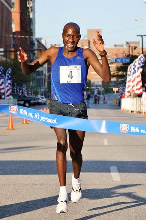 Julius Koskei of Kenya wins 10K in 29:06
