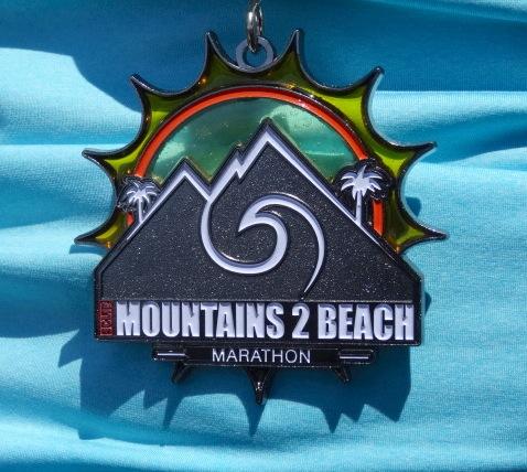 2014M2B Marathon Medal