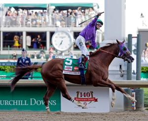 California Chrome wins the 140th Kentucky Derby