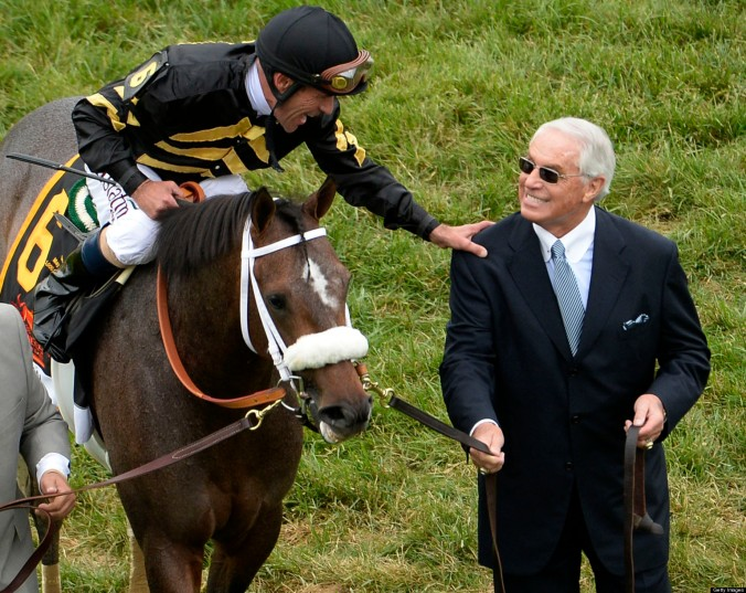Eclipse Award winner D. Wayne Lukas with 2013 Preakness Stakes champion