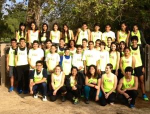 SRLA in Griffith Park training for 2014 Asics LA Marathon