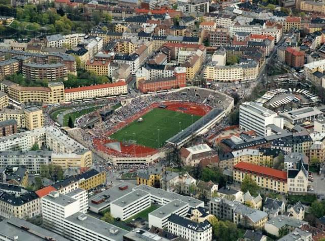 Oslo's Bislett Stadium
