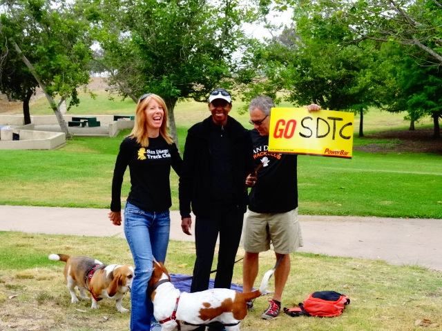 Setting up with Toya, Rick & Marla Nelson (and pooches)