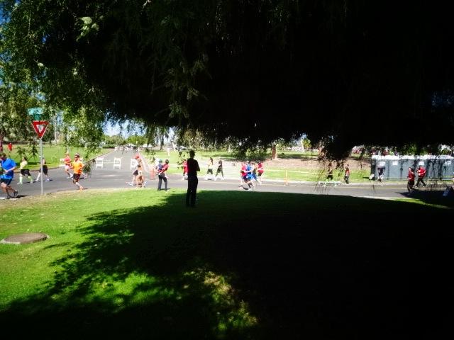 Taking the Turn into Balboa Park