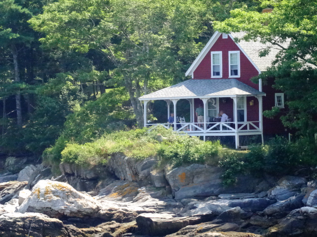 Maine coast cottage