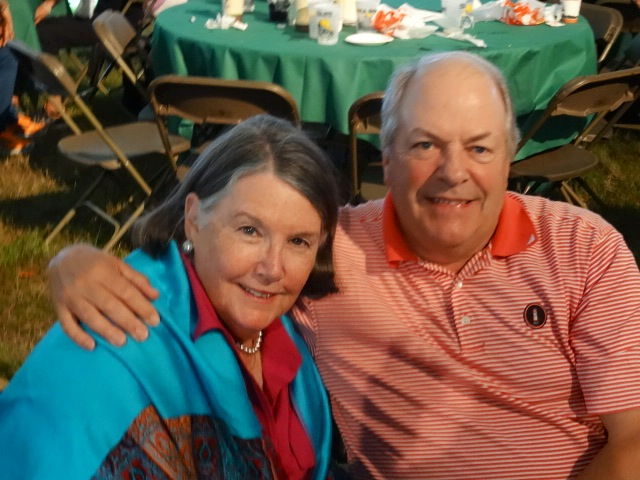 Our hosts Bill & Linda Nickerson