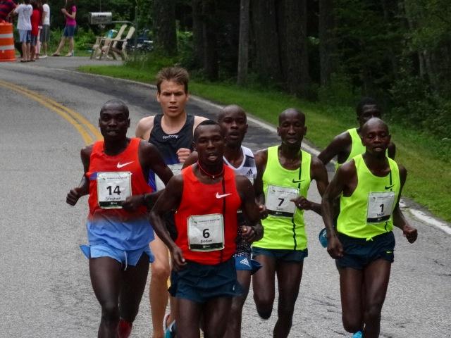Two miles 8:49, 4:29 split.  Bedan Karoki,
