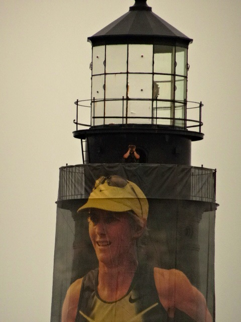 Joanie's likeness adorns the Portland Head Light, two of the most famous icons in Maine.