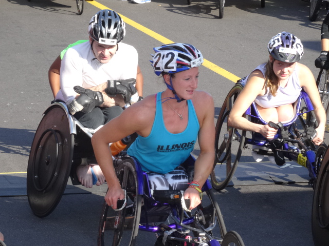 """The Beast"", Tatyana McFadden who crushed the women's wheelchair record which had stood since 1991"