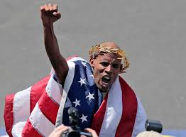 Meb on top of the world at Boston 2014