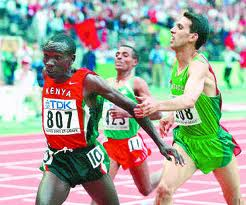 Kipchoge wins 5000m  gold in Paris 2003