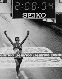 Steve Jones sets World Marathon Record in Chicao 1984