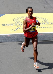 Buzunesh Deba, 2:19:59 in Boston.