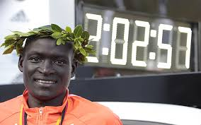 Dennis Kimetto, marathon world record holder