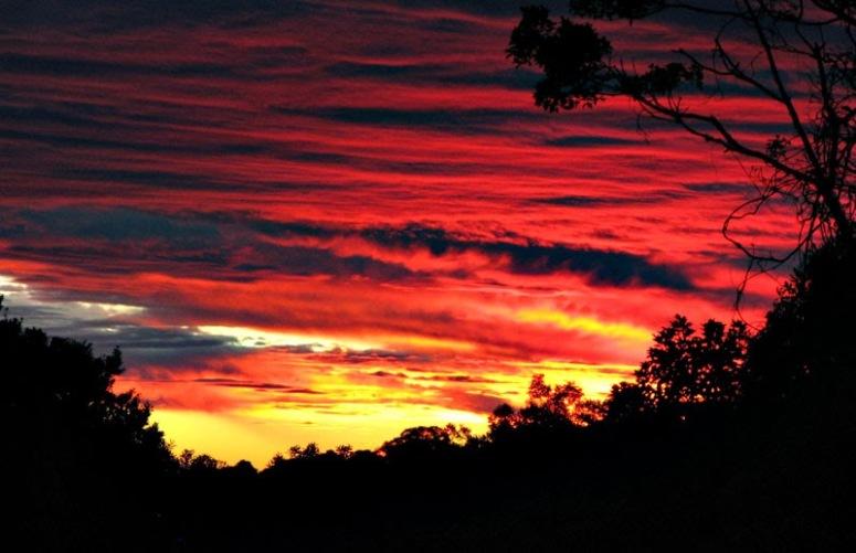 lamington_sunset