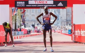 Mo finishes 8th in London in marathon debut
