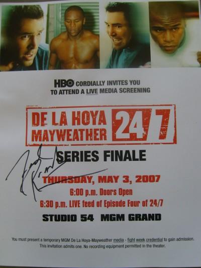 HBO 24 7 Mayweather De La Hoya