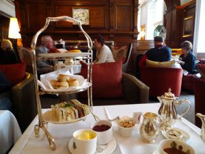 Afternoon Tea is Served at Brown's Hotel