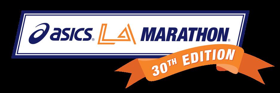 LAMarathon30thlogo