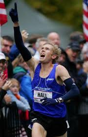 Ryan winning 2007 U.S. Olympic Marathon Trials Marathon in 2:09:04 in NYC