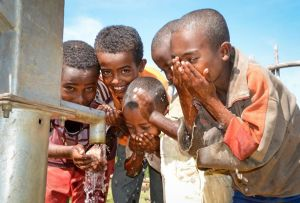 Help Halls bring needed H2O to Ethiopia