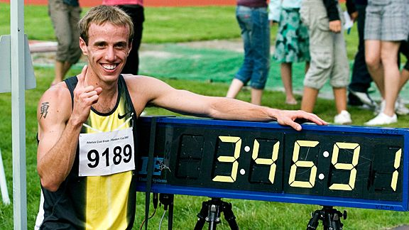 Alan Webb's No. 1 moment, the American mile record in 2007