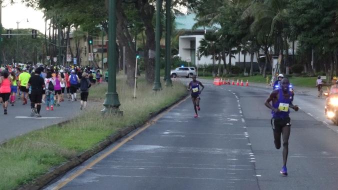 Kirui opens a lead in mile 7