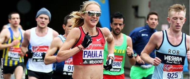 15London Paula Ratcliffe