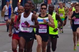 Winner Jordan Chipangama leads first mile  in 4:42