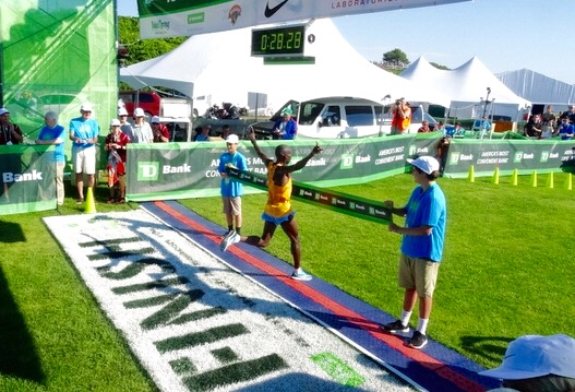 AFTER TWO RUNNER UPS AND TWO FOURTHS STEPHEN KIBET WINS B2B - 28:28