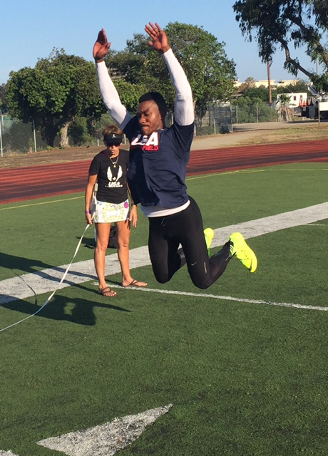 Stationed in El Centro, Oronde Vassell is training for the Military World Games this October in Seoul, South Korea.