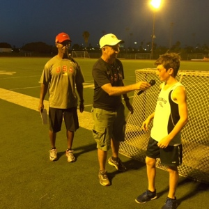 Paul Greer interviews Two Mile champ Ethan Corrigan