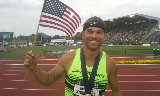 Nick Symmonds heading to Beijing? Credit: Micah Drew, Boise