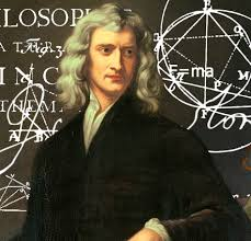 Sir Isaac Newton (sans Capri pants)
