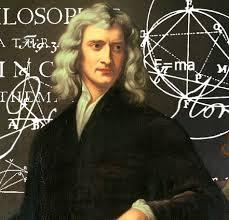 Sir Isaac Newton (sans Capri pants)