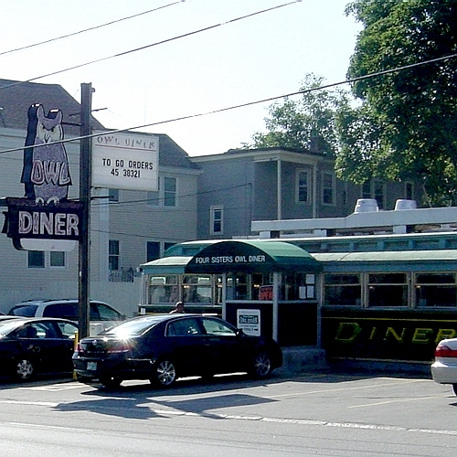 Owl Diner, Lowell, MA