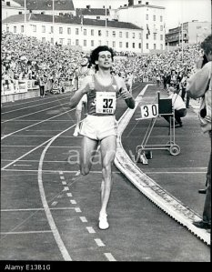 SEBASTIAN COE BREAKS THE WORLD 1000 METRES WORLD RECORD IN OSLO