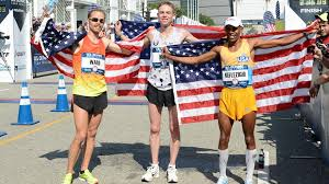 2016 men's U.S. Olympic Marathon team.