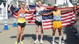 2016 men's U.S. Olympic Marathon team.