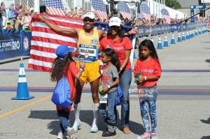 Meb and family celebrate his 4th OIympic berth