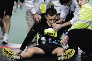 Marathon pain