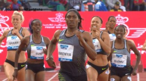 Caster Semenya making it look easy in Rabat